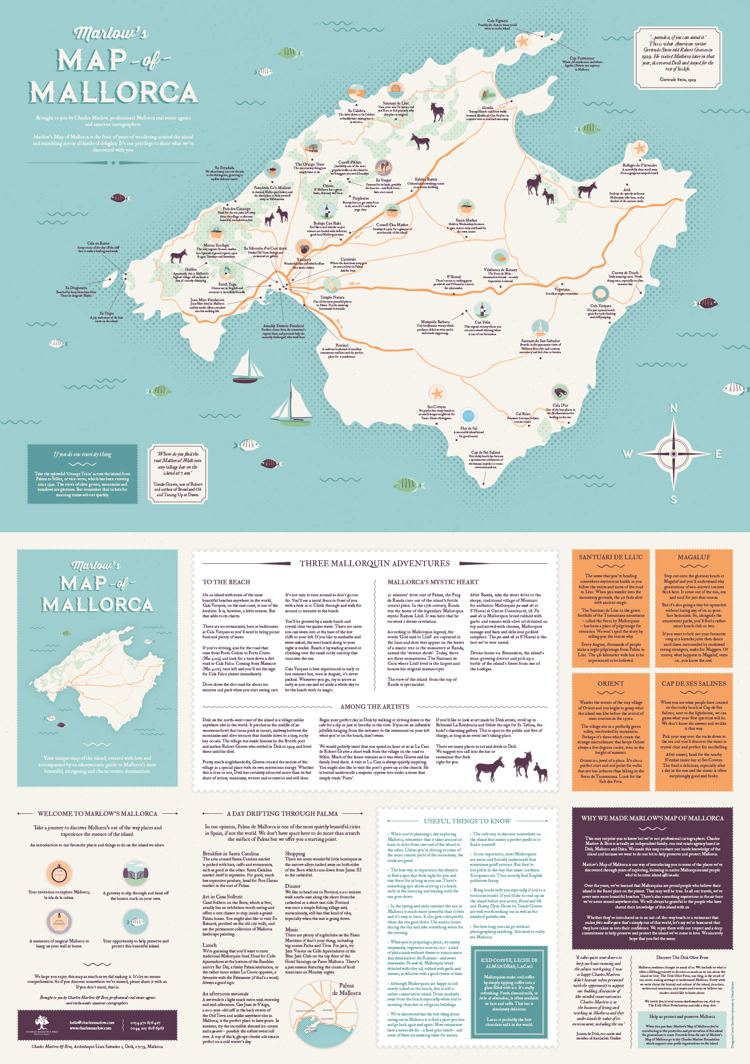 Welcome To Marlow S Map Of Mallorca Charles Marlow