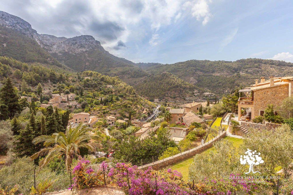 3-bedroom home for sale with Charles Marlow in Deia with stunning views.