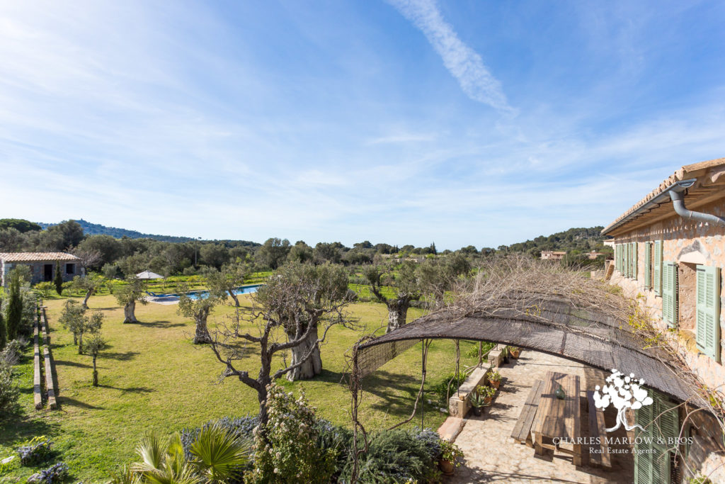 Valldemossa finca for sale at €1,395,000 with Charles Marlow.