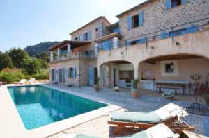 Ca Na Mar villa in the S'Empeltada area, Deia. For rent with Charles Marlow & Bros.